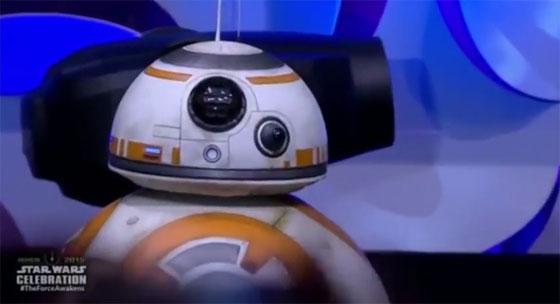 El increíble robot BB-8 de Star Wars