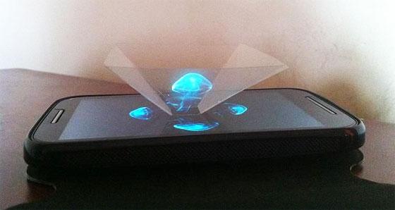 Cómo hacer un proyector holográfico casero con tu móvil