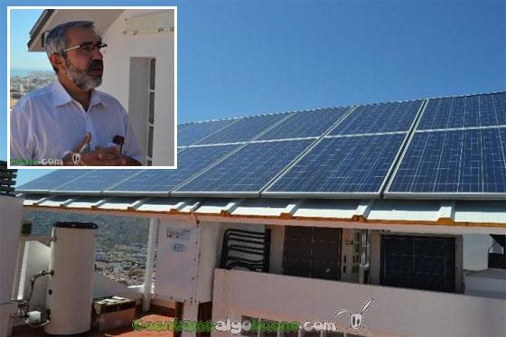 Miguel Torres el Ingeniero que ha independizado energéticamente su casa