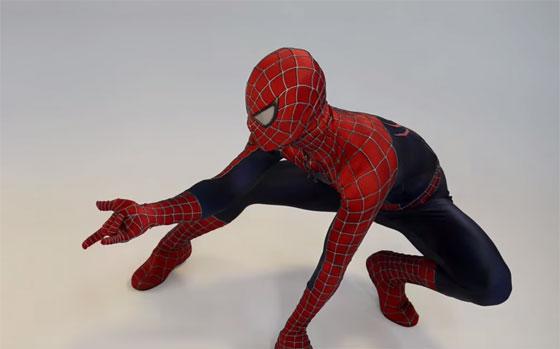 La mejor réplica del traje de Spiderman