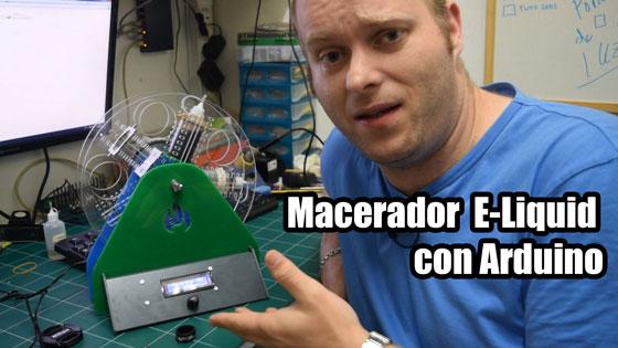 Proyecto: Macerador de E-Liquid para vapeadores con Arduino