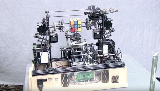 Resolviendo el cubo de Rubik con una Raspberry Pi