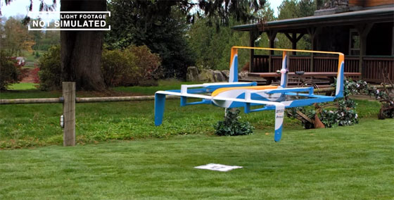 Los drones de Amazon Prime Air