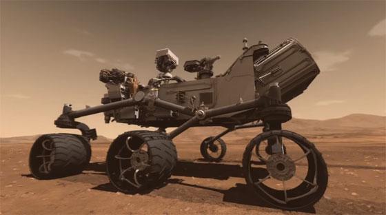 Descarga los archivos STL del Curiosity Rover para imprimir