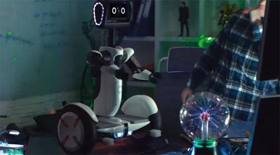 Segway lanza su robot personal inteligente