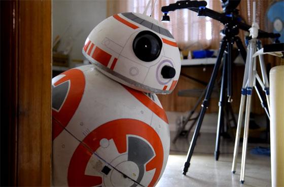 Cómo hacer un robot BB-8 casero con materiales baratos