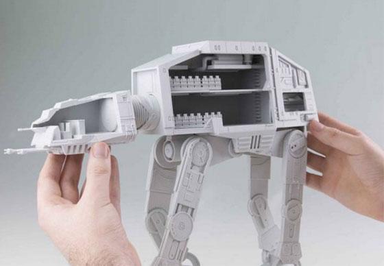Imprime tu AT-AT de Star Wars con todo detalle