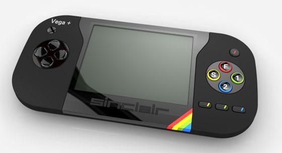 Sinclair vuelve con la consola portátil Vega Plus