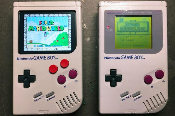 Game Boy modificada con Raspberry Pi Zero