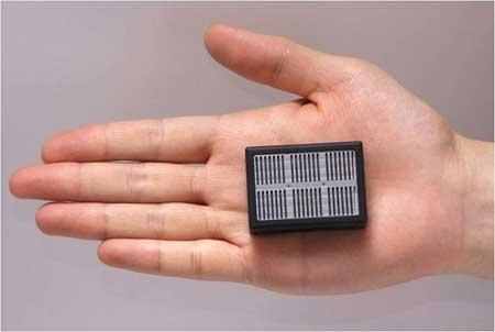 Sony presenta su prototipo Pila de combustible de 3W