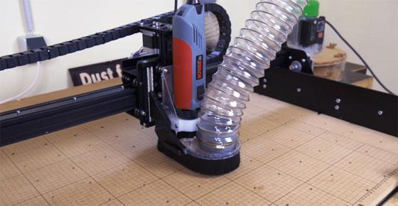 El recolector de polvo casero definitivo para máquinas CNC