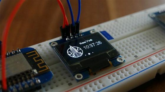 Librería OLED SSD1306 para ESP8266