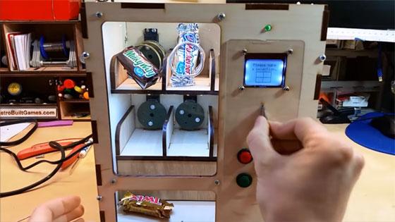 Máquina de vending casera con Arduino