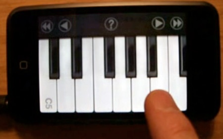 (Video) iAno: El iPhone de Apple convertido en un piano