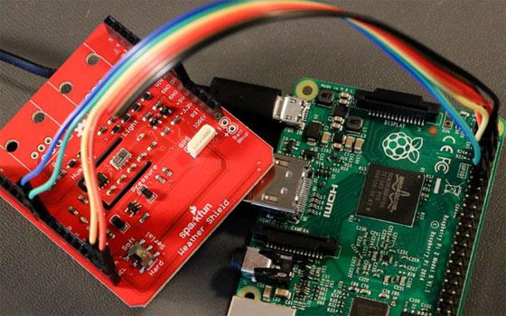 Estación meteorológica con Windows IoT Core y Raspberry Pi
