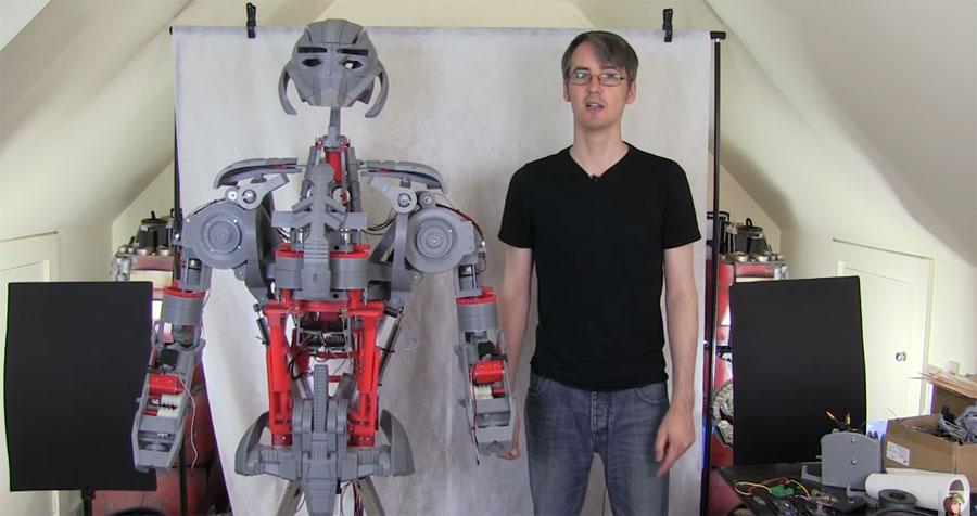 El robot Ultron de XRobots ya empieza a moverse