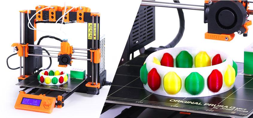 Josef Prusa presenta su nuevo sistema con 4 extrusores