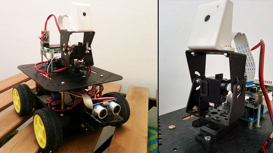 Cómo hacer un robot de cámara subjetiva con Raspberry Pi y Arduino