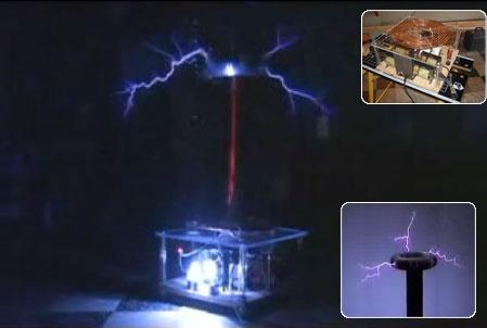 (Video DIY) Construir una Tesla Coil de un millon de voltios