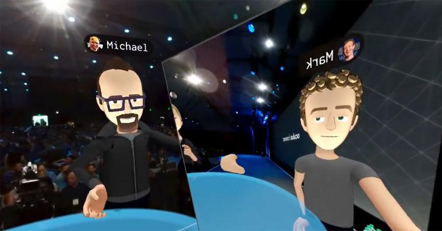 Mark Zuckerberg presenta Social VR para Oculus