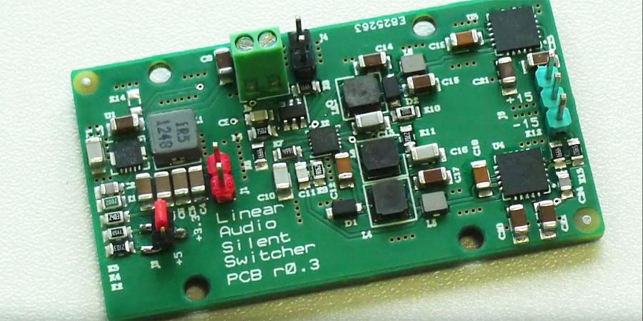 The SilentSwitcher es una fuente de alimentación conmutada que no emite ruidos