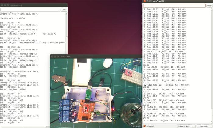 IoT: Domotizar el jardin con arduino, RFM69 y Raspberry Pi
