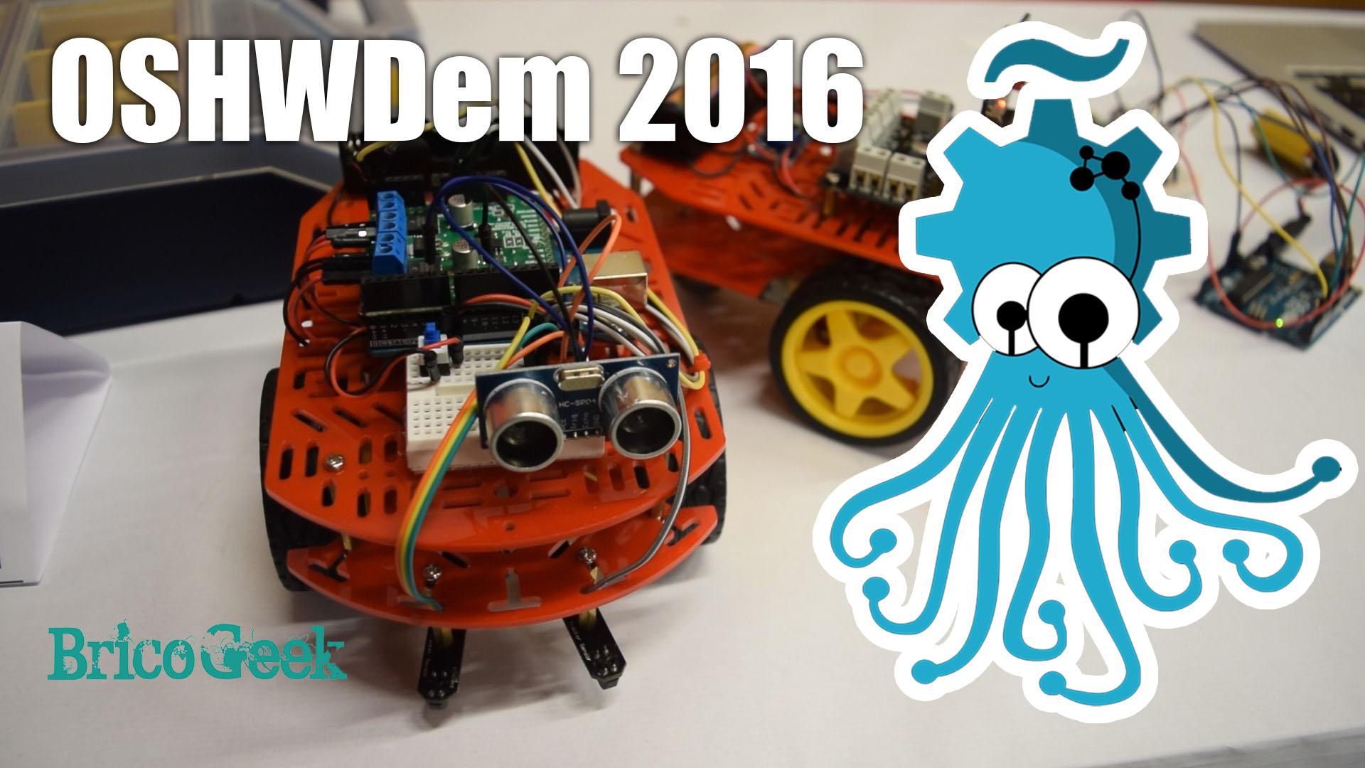 Video resumen OSHWDem 2016