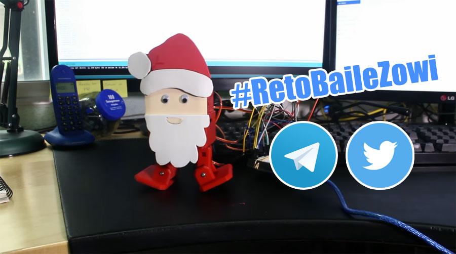 Cómo crear un robot navideño paso a paso #RetoBaileZowi