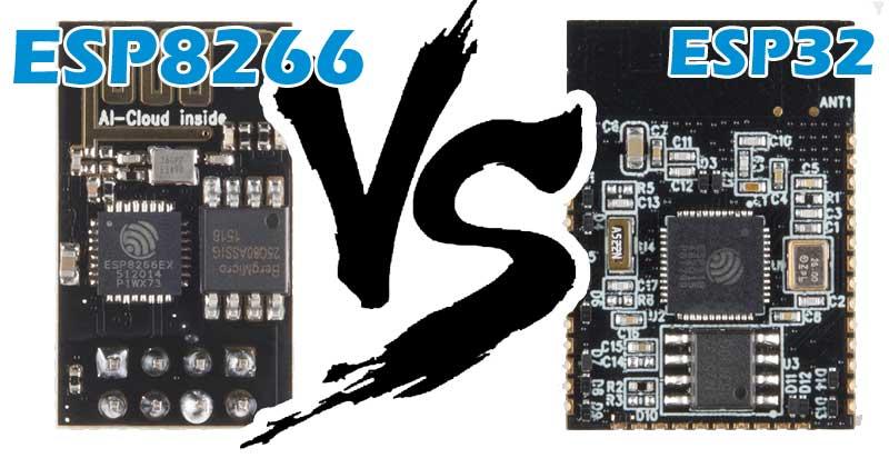 Comparativa y análisis completo de los módulos Wifi ESP8266 y ESP32