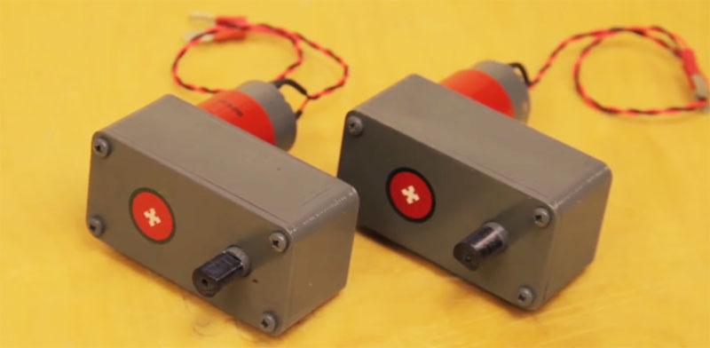 Caja reductora casera impresa en 3D