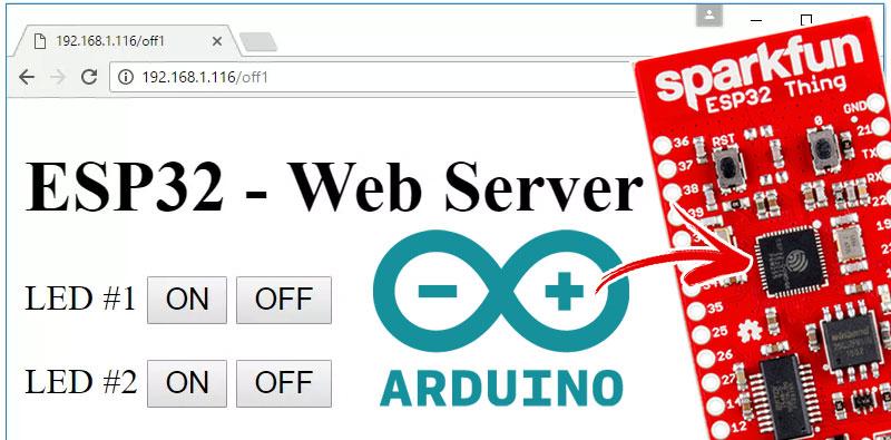 Cómo hacer un servidor web para ESP32 con el IDE de Arduino