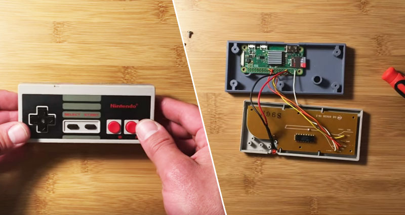 GamePad Zero: Una Raspberry Pi para gaming dentro de un mando de NES