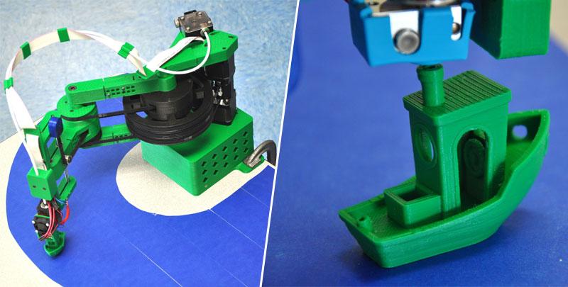 RepRap HELIOS: Una impresora 3D en formato SCARA