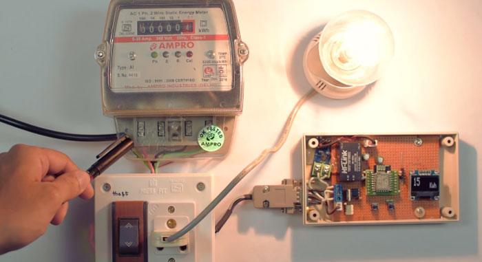 Medidor de consumo eléctrico casero con ESP8266