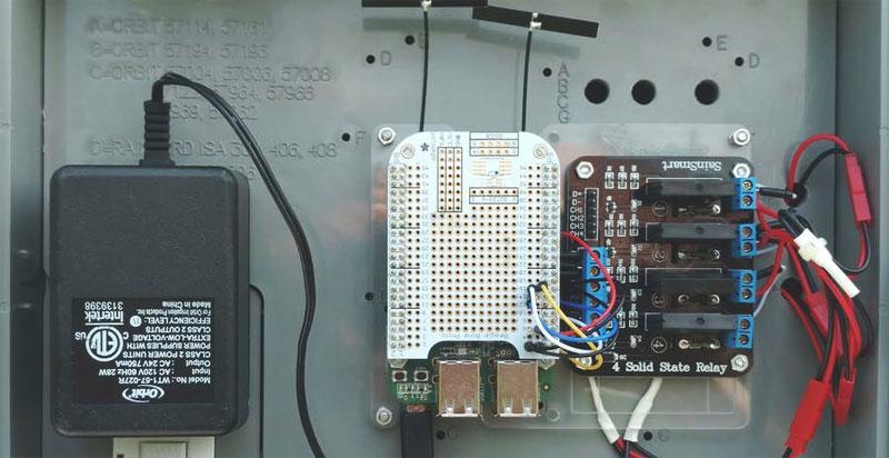 Sistema de irrigación automático casero con BeagleBone
