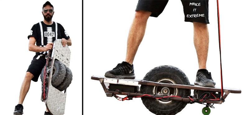 Cómo hacer un hoverboard casero con materiales reciclados