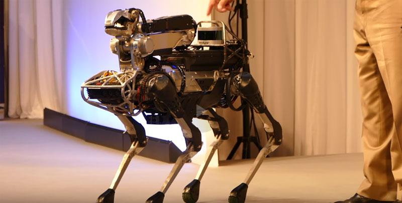 La versión mejorada del robto SpotMini de Boston Dynamics
