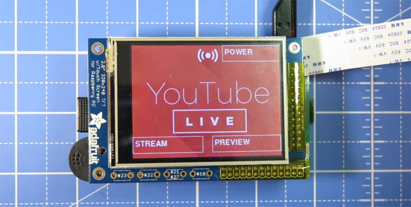 Cámara para Live Streaming en YouTube con Raspberry Pi