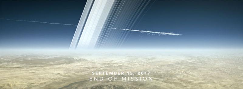 La sonda espacial Cassini termina su viaje en Saturno tras 20 años de servicio