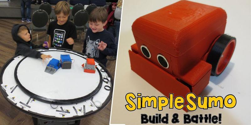 Tutorial: Cómo hacer un robot Mini Sumo