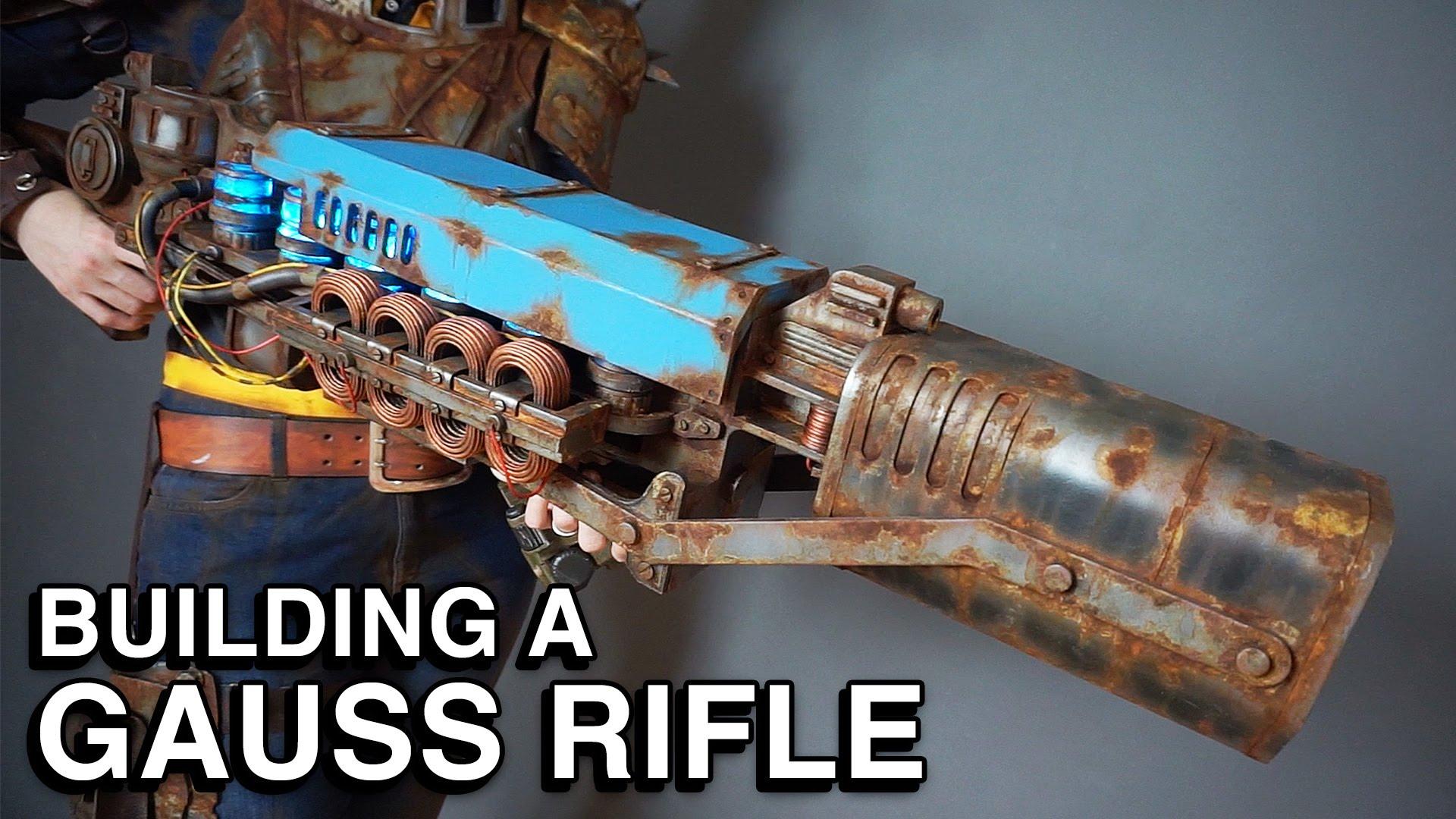 Réplica del rifle de Fallout 4