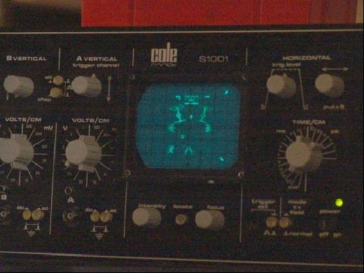 (Video) Osciloscopio para jugar al MAME