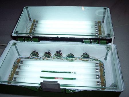 Insoladora casera doble cara microcontrolada con LCD