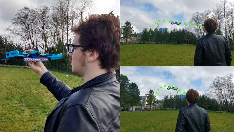 Controlando un dron con reconocimiento facial