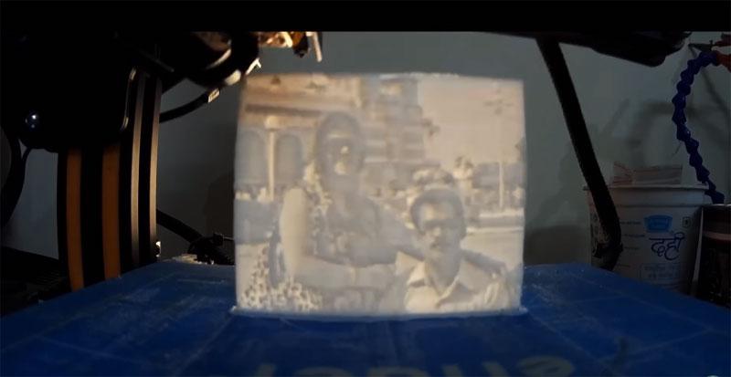 Cómo hacer litofanías con impresión 3D