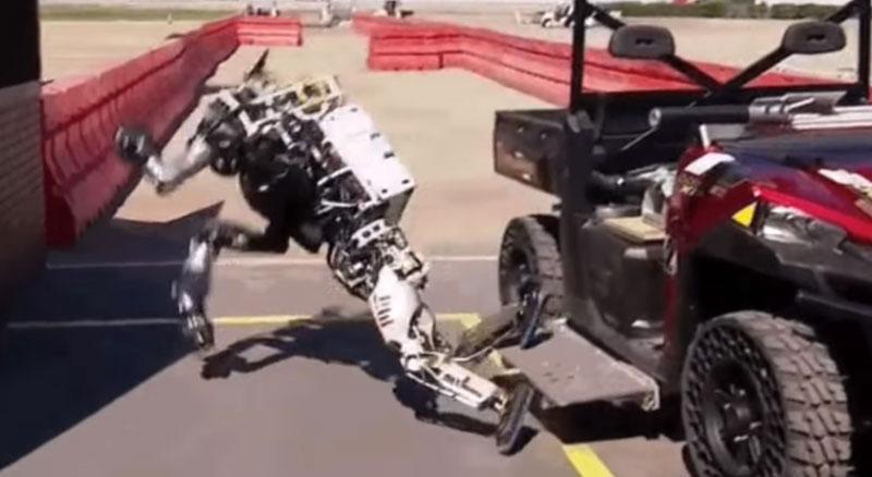 Recopilación de caídas de robots
