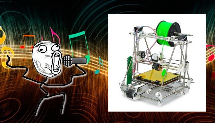 Cómo hacer cantar tu impresora 3D
