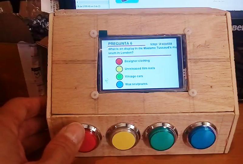 QuizzPi: Sencillo juego de Trivial con Raspberry Pi