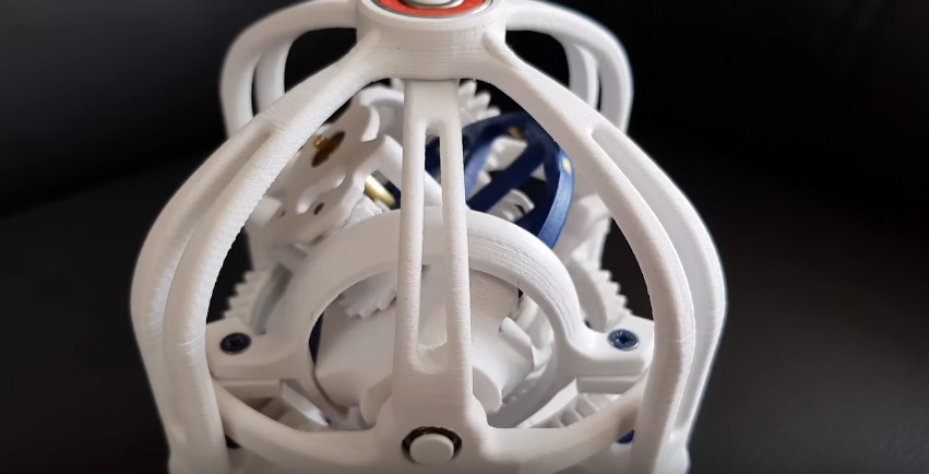 El mecanismo Gyrotourbillon de Jaeger-LeCoultre impreso en 3D
