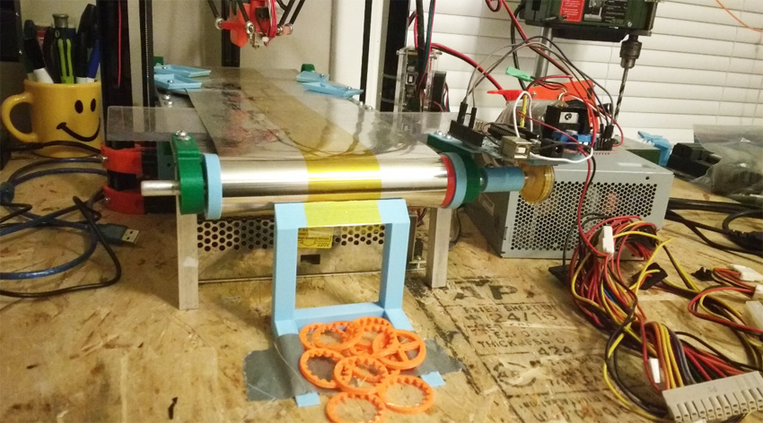 Impresora Conveyor Belt 3D puede imprimir de forma continua sin parar hasta el infinito